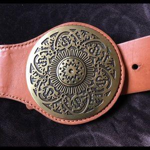 Chico's solid belt.